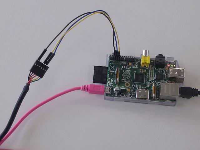 Raspberry pi シリアル・コンソール接続