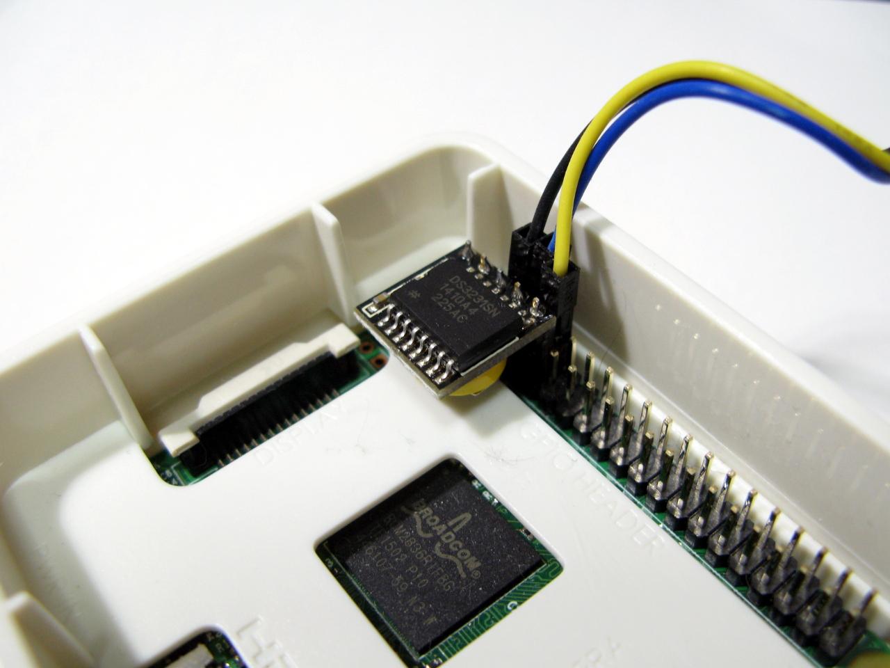ミニRTCをRaspberry Pi 2に挿してみた.
